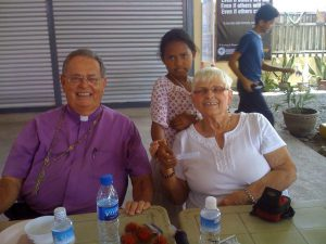 Bishop Gene and Phyllis Lilly